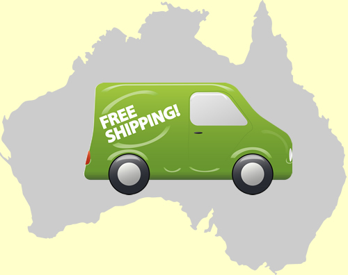 Slider main picture for Free Shipping in Australia wide